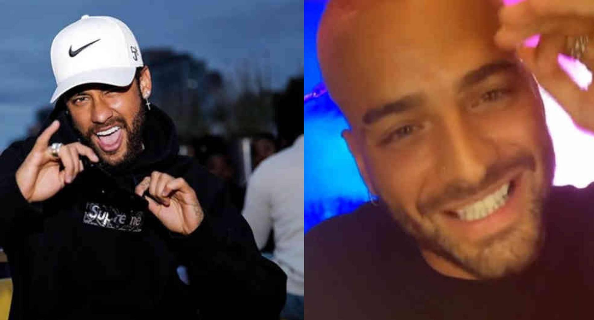 """""""Él y yo no somos amigos"""", revela Maluma sobre su relación con Neymar"""