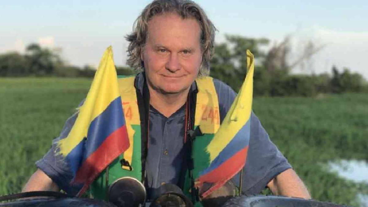 Wade Davis, antropólogo y escritor que ha recorrido el continente americano. Foto: Xandra Uribe
