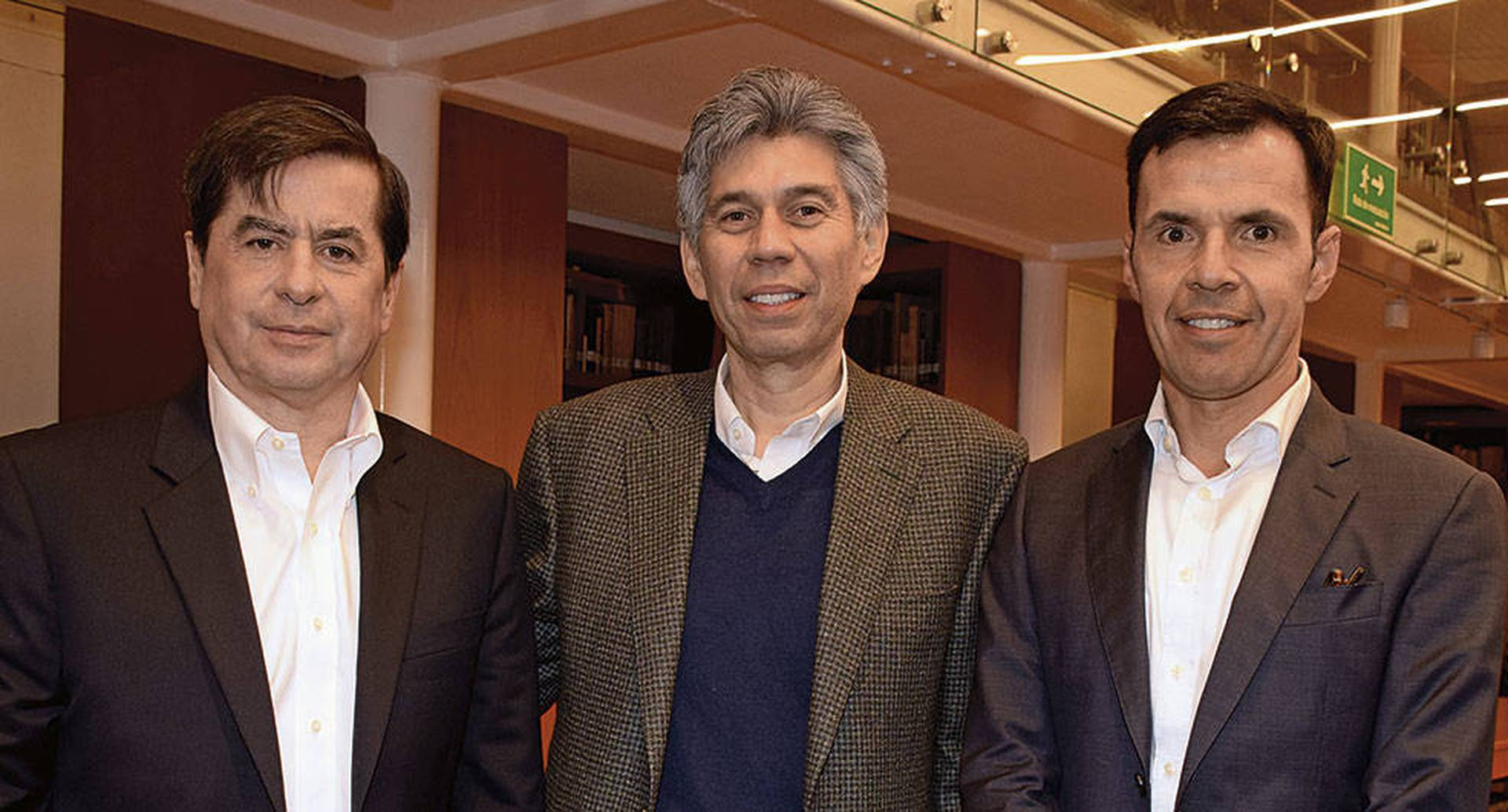 Juan Fernando Cristo, Daniel Coronell y Guillermo Rivera.