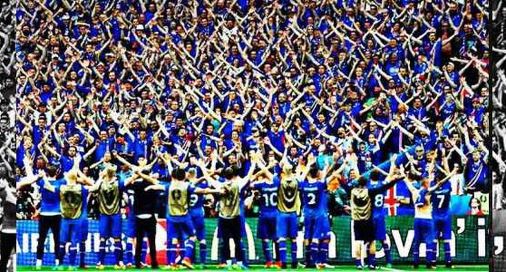 Los jugadores de Islandia se han robado el cariño de los fanáticos de la Eurocopa, no solo por sus triunfos, también por sus celebraciones