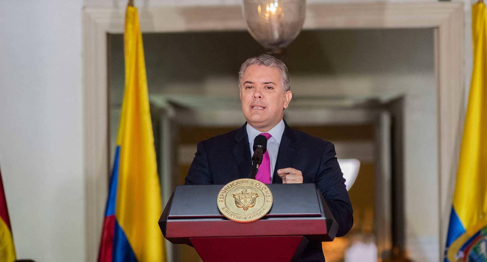 El mandatario intervino en la XX Reunión del Consejo Presidencial Andino. Foto Presidencia.
