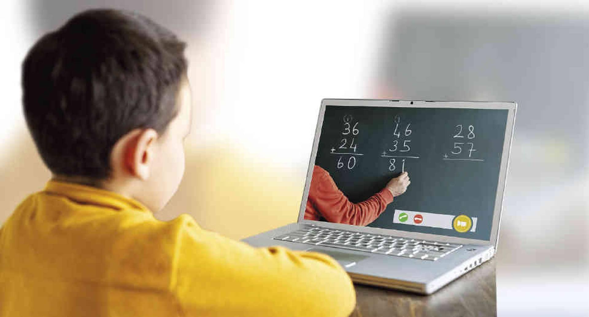 El modelo pedagógico virtual  para la educación primaria