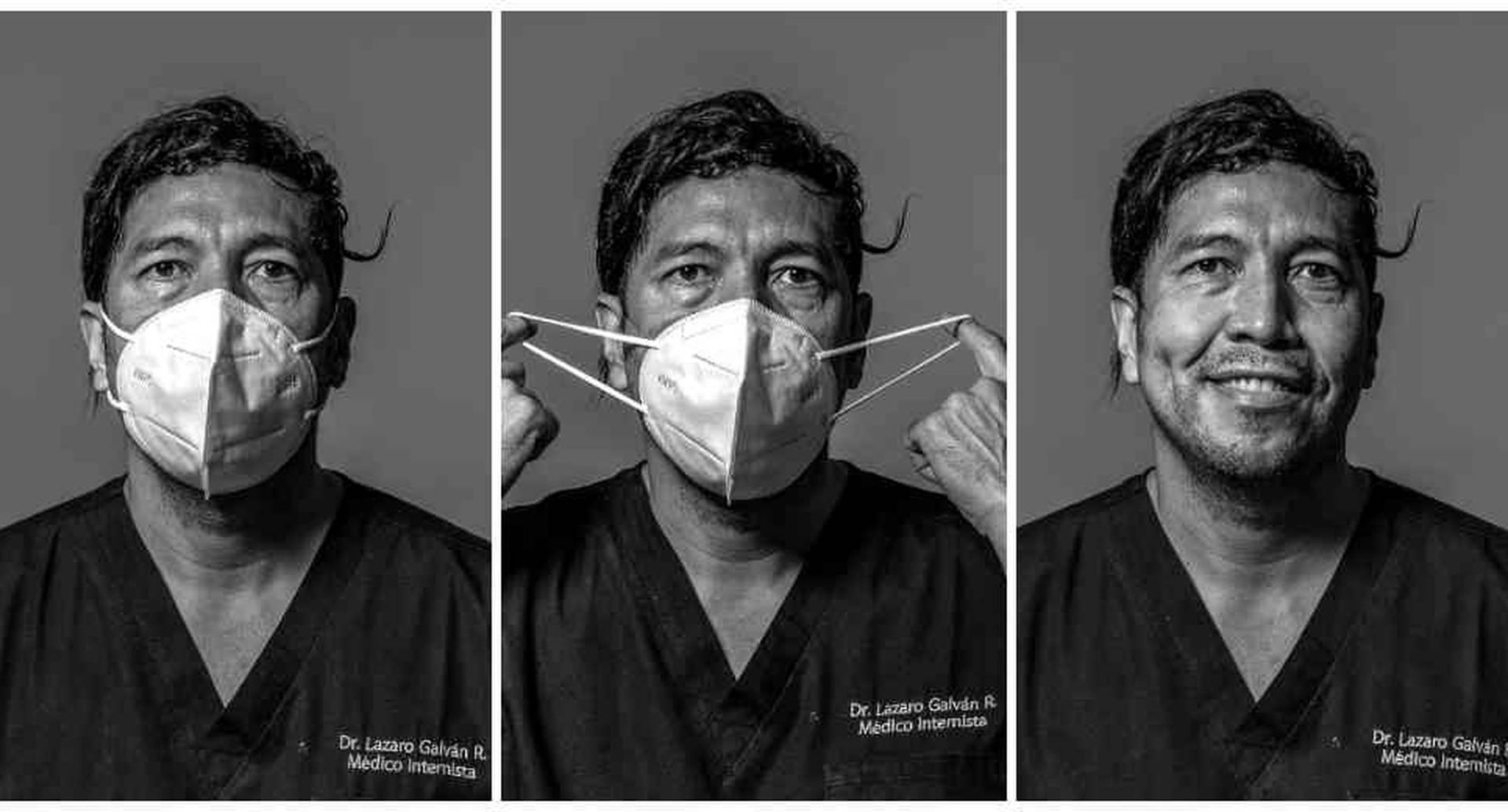 Lázaro Galván es médico internista UCI en el Hospital Méredi de Bogotá.