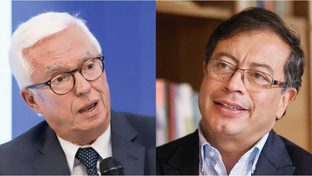 Jorge Enrique Robledo y Gustavo Petro.