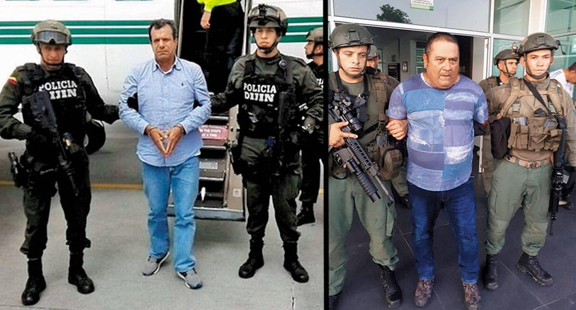 Mauricio Pachón, alias Puntilla, disparó 12 veces contra los policías que iban a arrestarlo. Murió en el cruce de disparos. Ángel Úsuga, alias Pitillo, hermano del jefe del Clan del Golfo, fue detenido en la Operación Agamenón II.