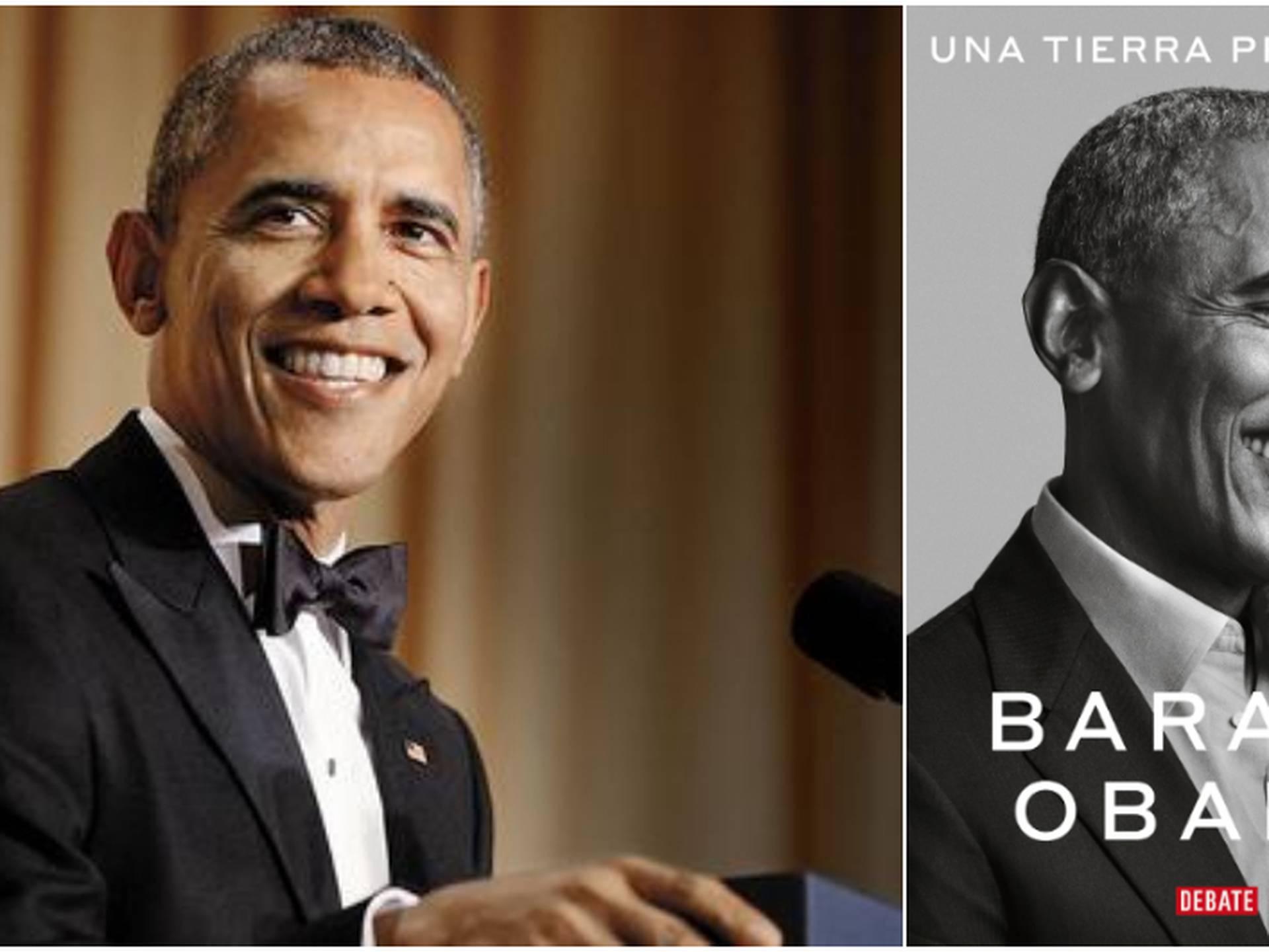 'Una tierra prometida', la primera parte de las memorias de Barack Obama, llegaran a Colombia el 17 de noviembre.