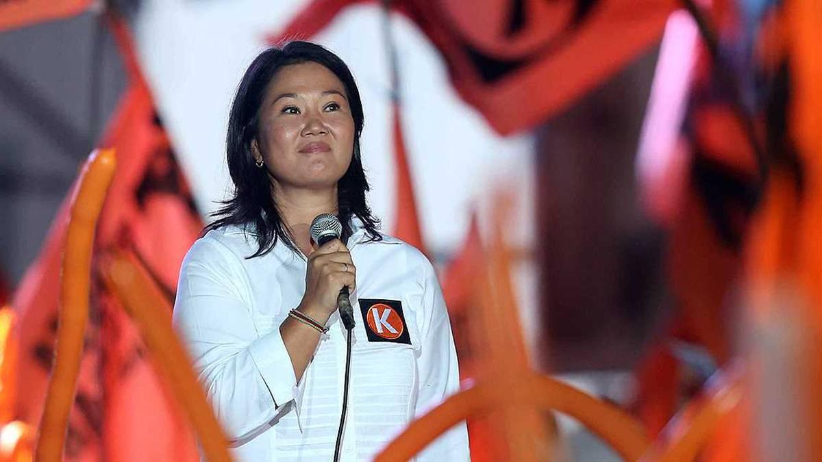 Detienen a Keiko Fujimori por supuesto lavado de activos