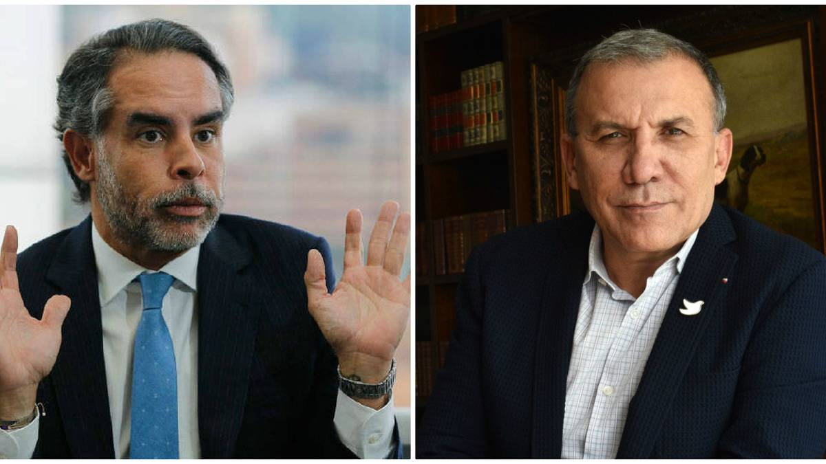 Roy Barreras y Armando Benedetti