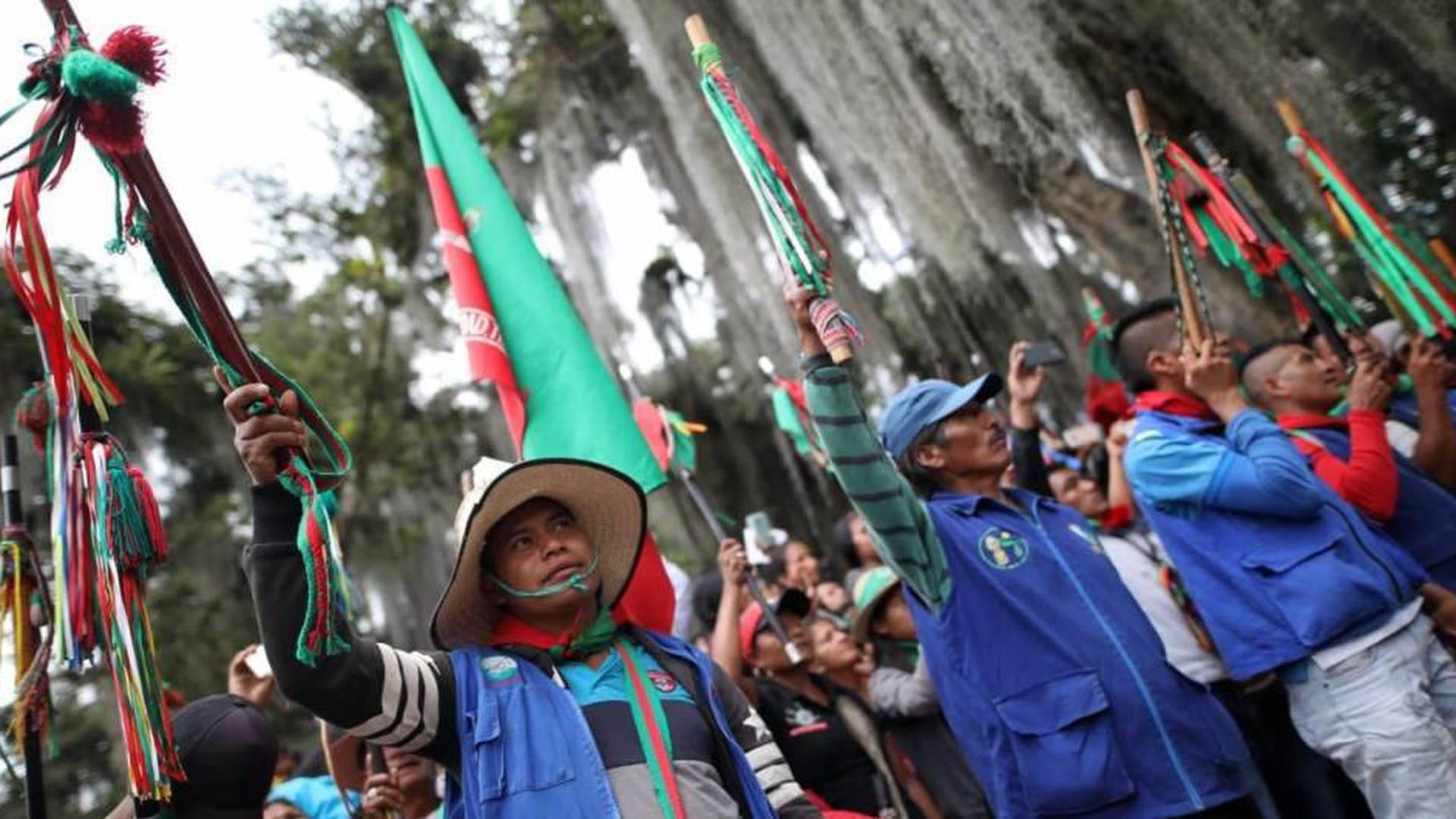 Así se prepara una nueva minga indígena en señal de protesta contra el  Gobierno