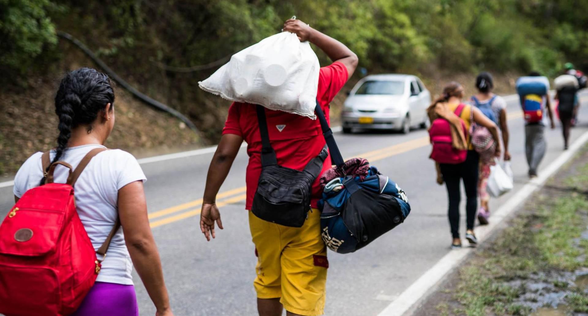 La Iglesia católica realiza actividades para dar a conocer avances en materia de atención humanitaria con los migrantes venezolanos.