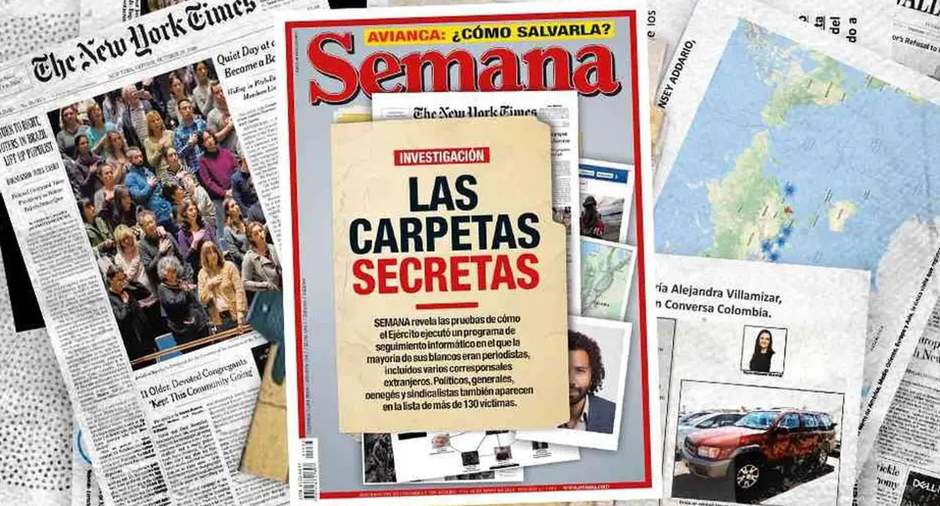 Perfilamientos del Ejército a periodistas y organizaciones de la sociedad civil