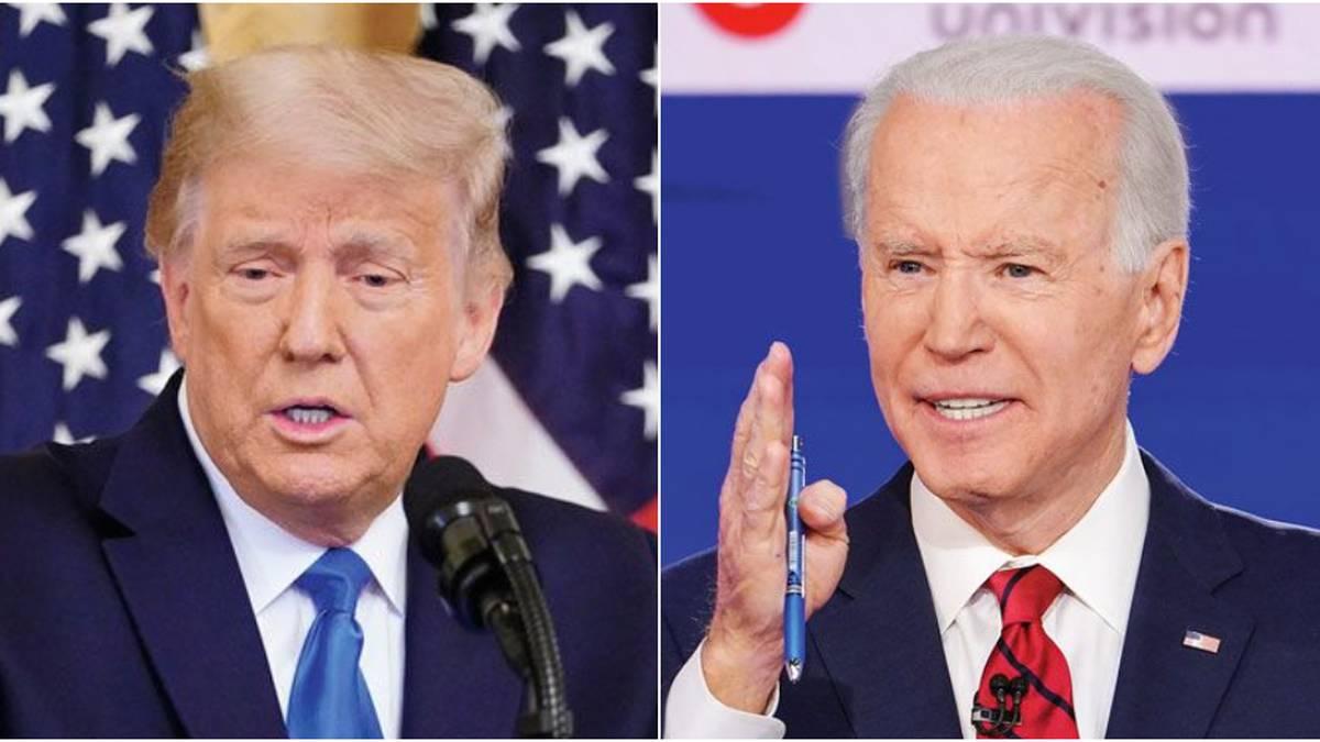 """Es bueno que no vaya"""": Biden sobre decisión de Trump de no asistir a su  posesión"""