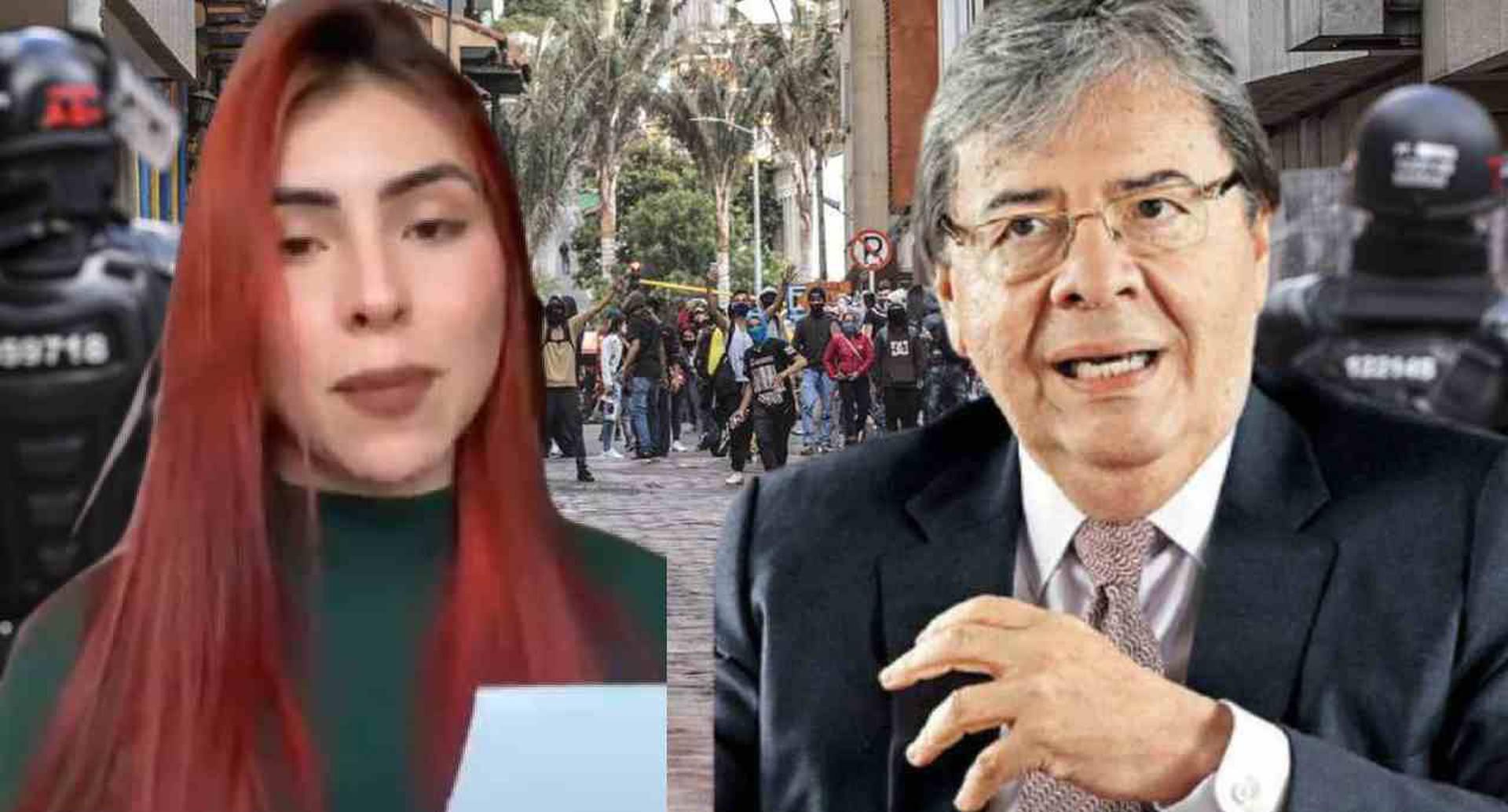 La hermana de Dilan Cruz no aceptó excusas del ministro de Defensa