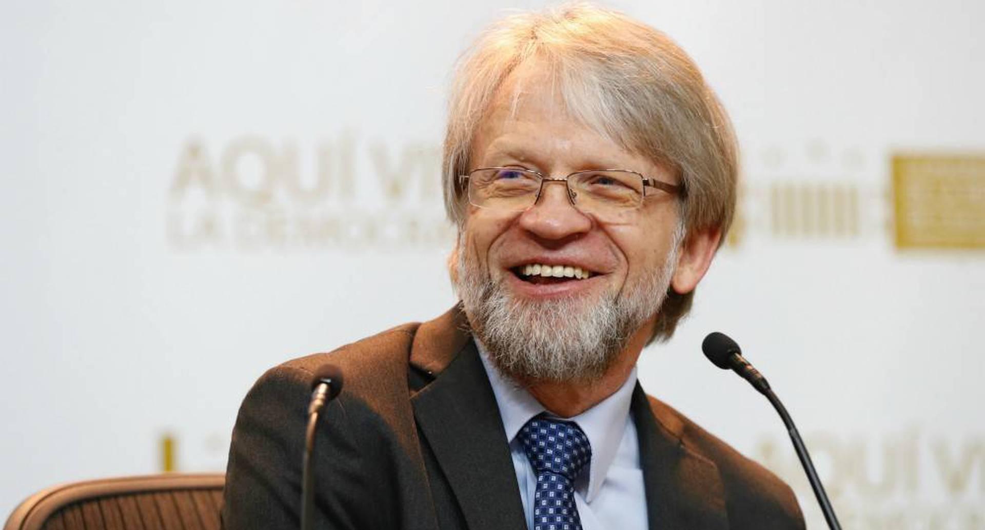 Antanas Mockus fue elegido en 2018 con más de medio millón de votos.